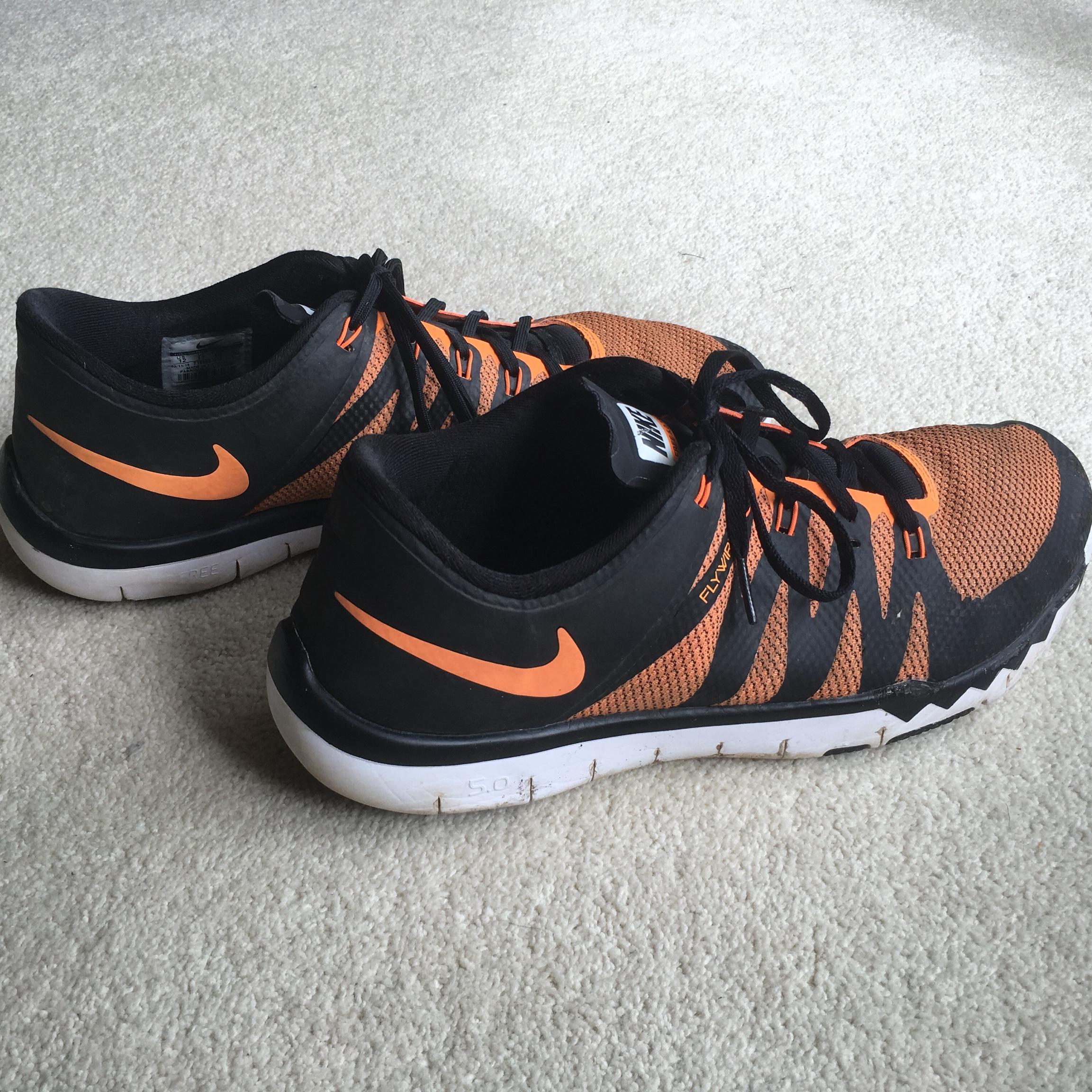 uk availability 04bb1 610e2 Nike Free 5.0 Flywire good condition. - Depop