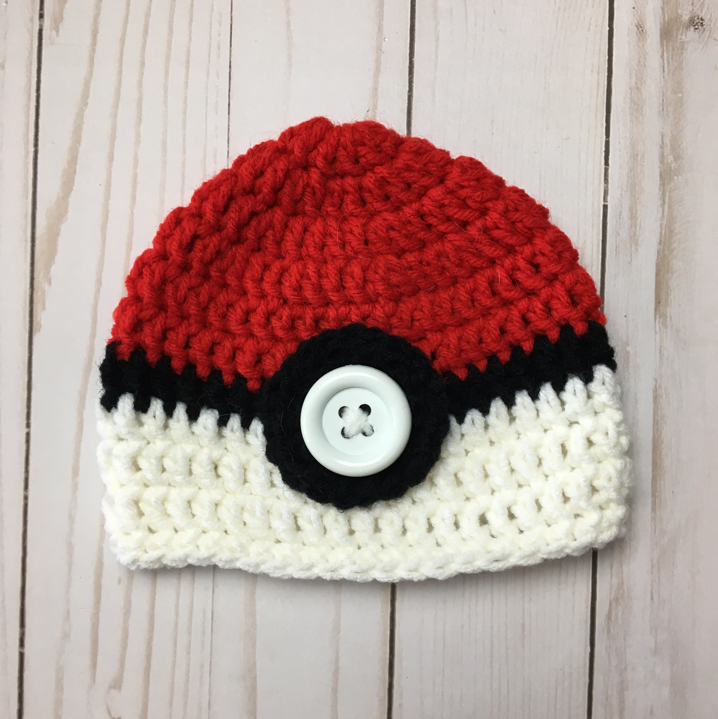Ravelry: Poke'ball Hat pattern by Bonnie Jacobs | 2305x2304