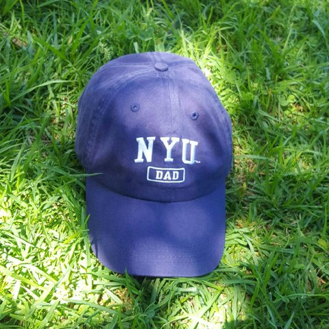 6bf28e8dc3a76 NYU dad cap. Literally. Very cute even if you re not a dad - Depop