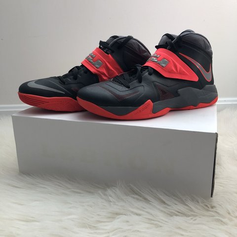 acdc1fbfb2330 🔥 Nike LeBron Zoom Soldier VII Basketball Shoes 🔥 - NO   - Depop