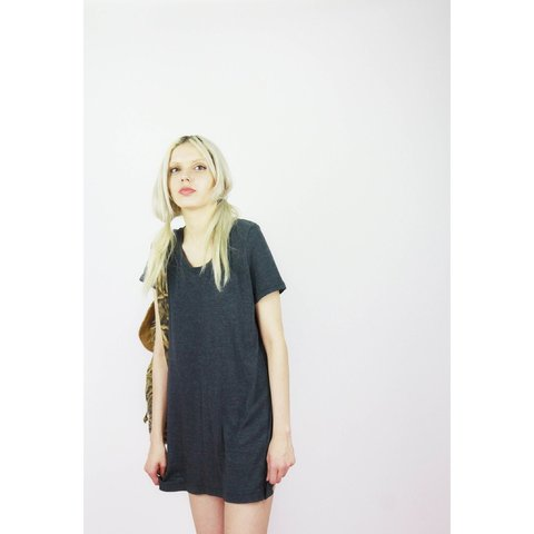 2340fd275a Vintage 90s T-Shirt Dress ~ A cool and cute easy to wear for - Depop