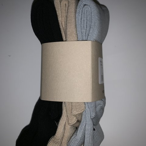 d52685a74 Yeezy season 6 socks 3pack Brought from yeezy supply when 3 - Depop