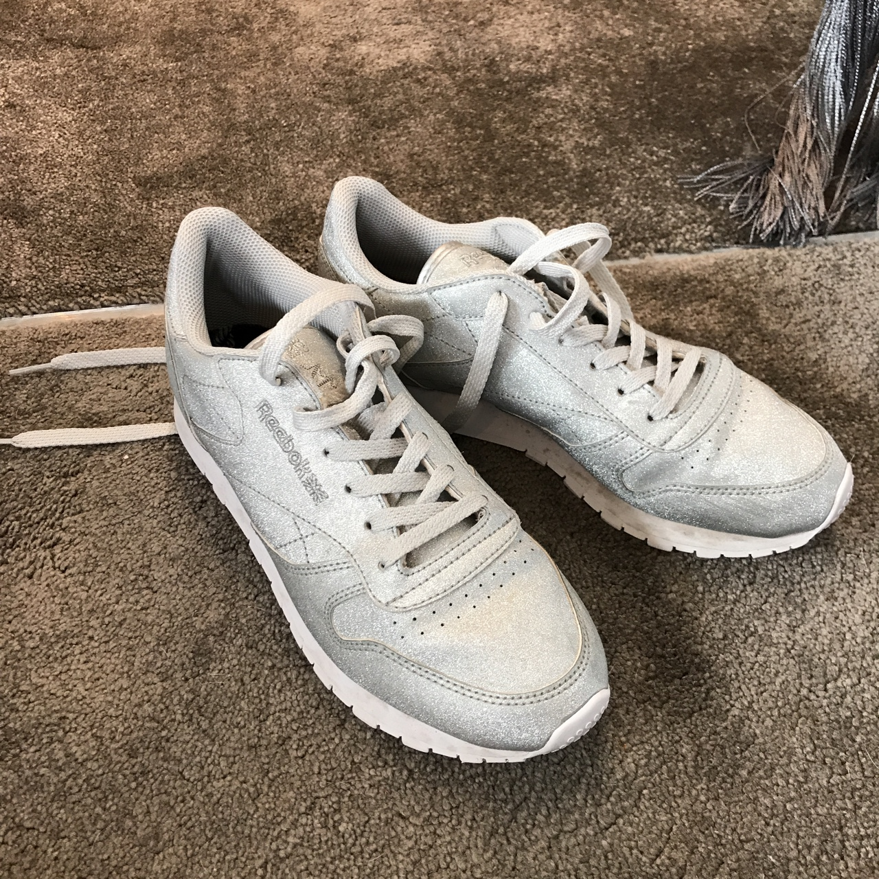 reebok sparkly trainers - 61% OFF