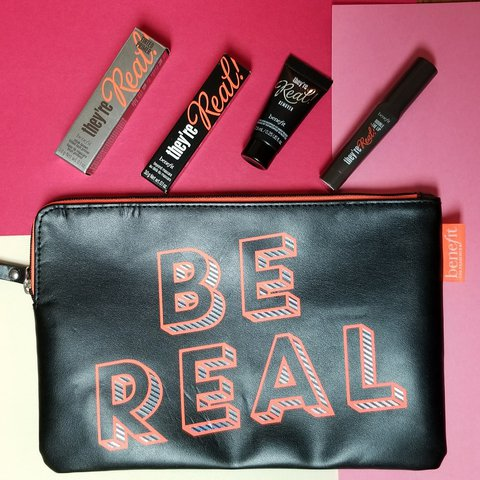 e4547403b7b BENEFIT THEY'RE REAL MINIS Awesome starter kit to try out, - Depop