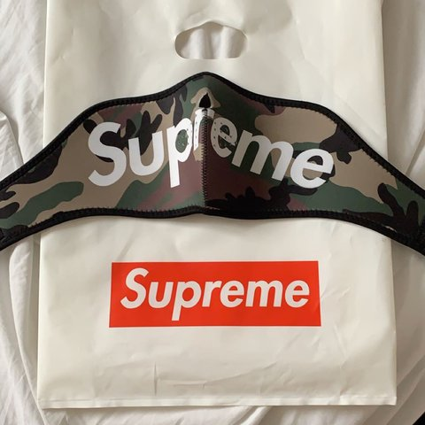 Supreme Woodland Face Mask Brought 0