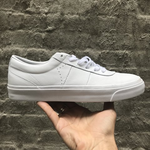 46f35899c252 Converse (Cons) One Star CC Pro Ox in coke white leather a a - Depop