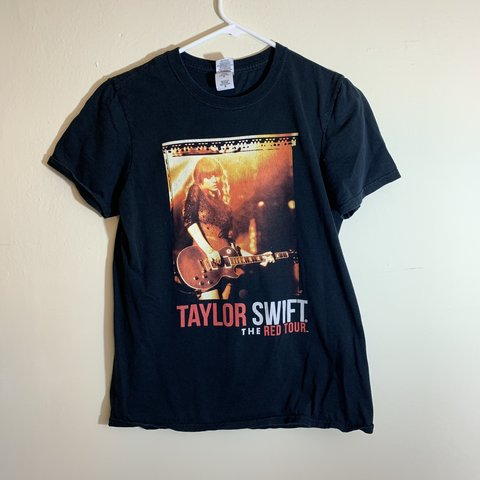"""d288345d6 @vexedvintage. last month. Seattle, United States. Taylor Swift """"The Red  Tour"""" T-shirt"""