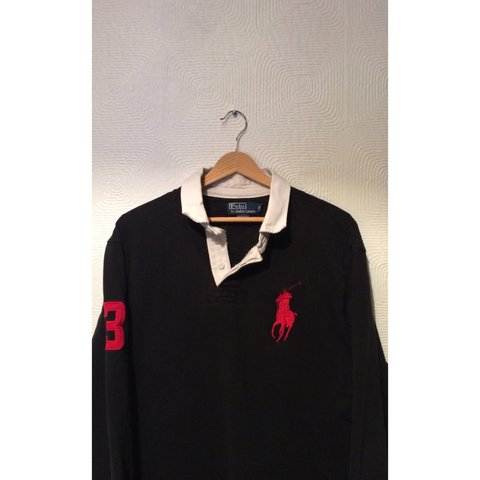 1614d45cb2a @alhyslop. 4 years ago. Aveley, United Kingdom. Authentic Ralph Lauren Rugby  style Polo Shirt.