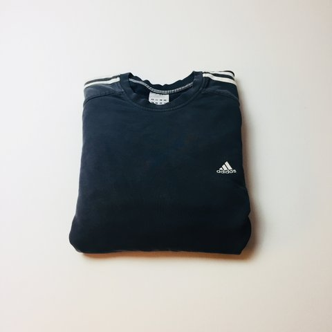 8464bc352f6a Classic Adidas sweatshirt. Navy blue. Good condition