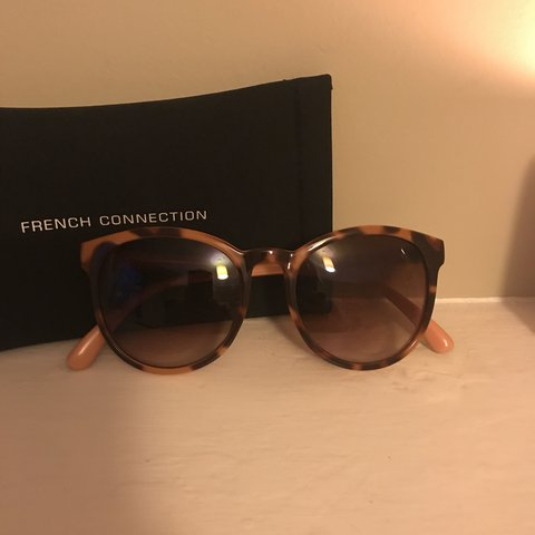 8008a452f5 Brand new French Connection sunglasses. Tortoiseshell with a - Depop