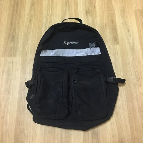 big sale ce826 1f443 SUPREME BACKPACK FW14 - sick bag, loads of compartments - of - Depop