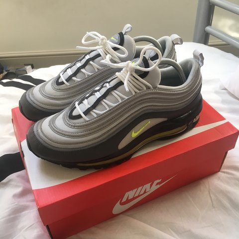Air max 97 volt Perfect condition worn once out of the box - Depop 7c4aa8dbe