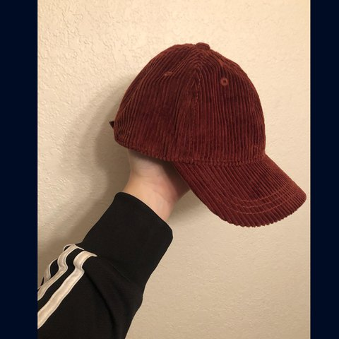 cool brown madewell baseball hat cap. corduroy. unisex. made - Depop 5089c91e1707