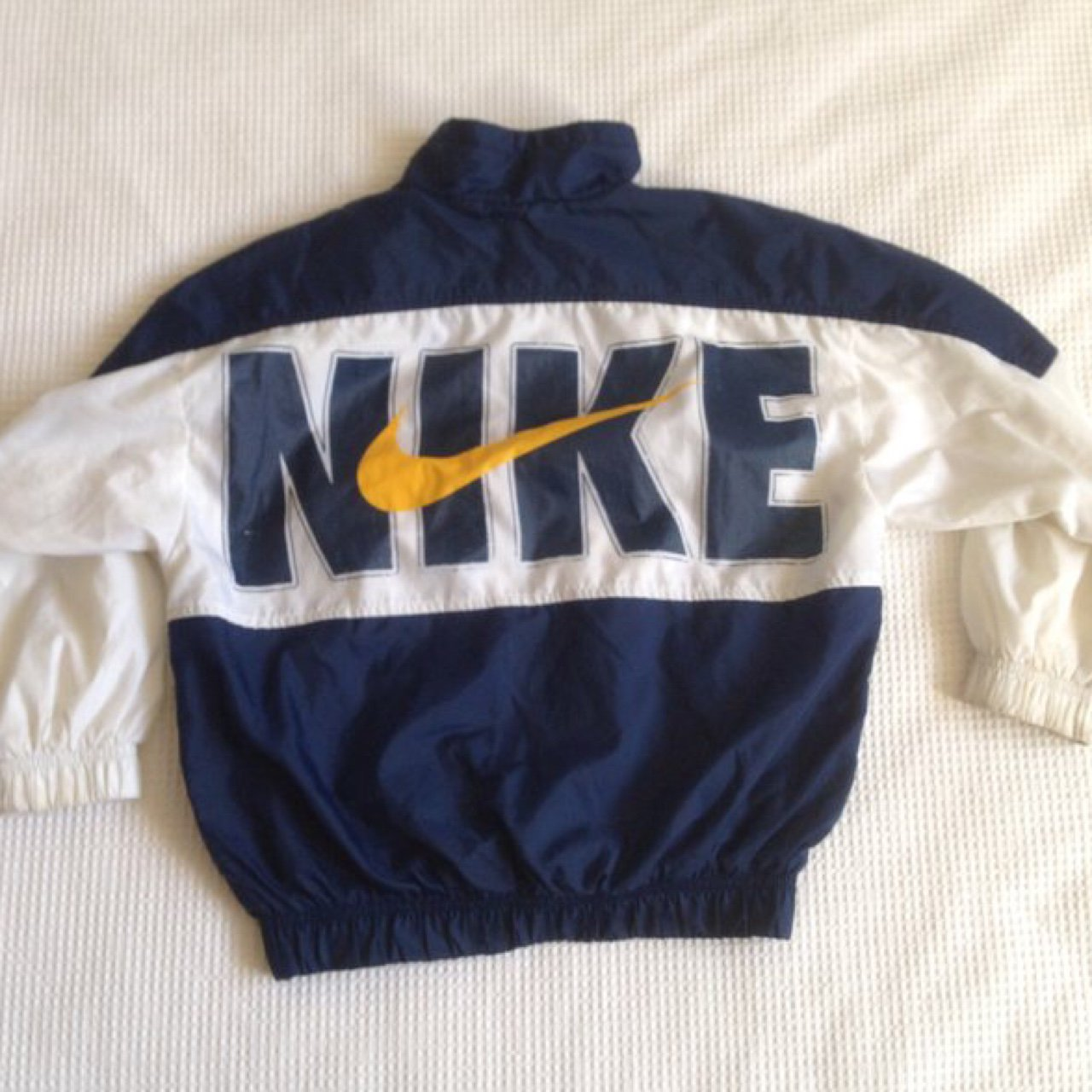 Super retro style Nike wind jacket ⚡️In children s sizes so - Depop 623fa3f11