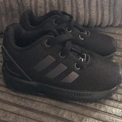 Baby boys size 4 all black adidas. Brand new with no signs - Depop 4ee18c4ea