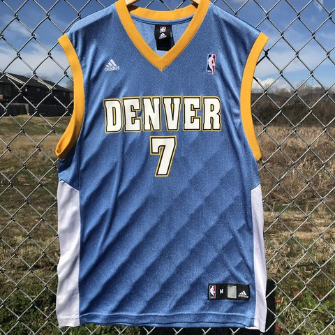 76d007854 Fire Chauncey Billups Denver Nuggets jersey! (Slight black M - Depop