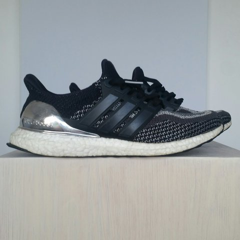 5b0ea7308 Adidas Ultra Boost Silver Medal Cond. 7 10 DM me for - Depop