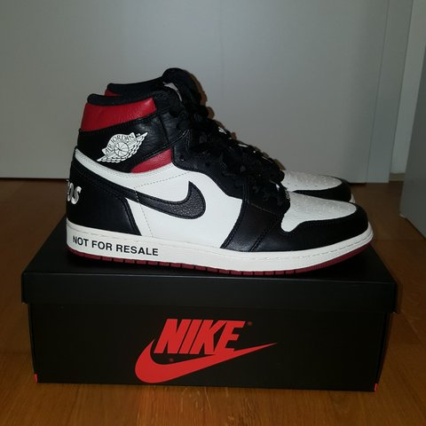 8627ae02e47913 AIR JORDAN 1 NOT FOR RESALE Condition  10 10 (wear 43 - Depop