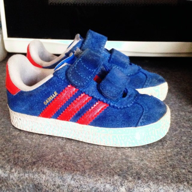 Toddler Adidas gazelle trainers size 5. Kid child baby - Depop de2f502a5ca2