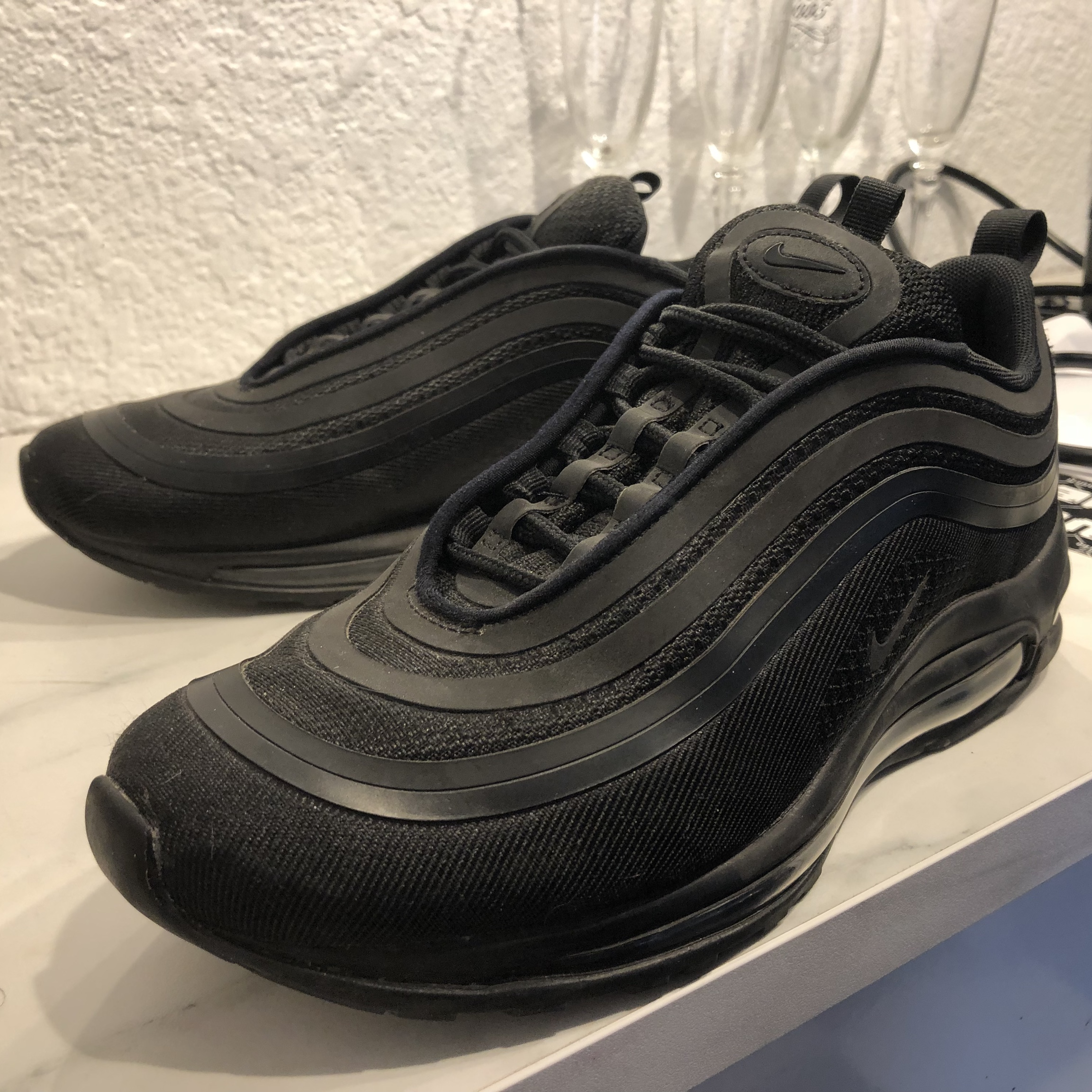 new style 99a6a e8e91 Nike Air Max 97 Ultra 17 Triple Black Men's Size 8... - Depop