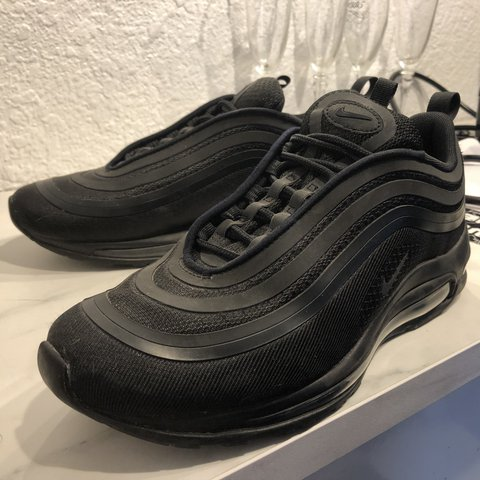 Nike Air Max 97 Ultra 17 Triple Black Men s Size 8 Worn 4 - Depop af873a3b1