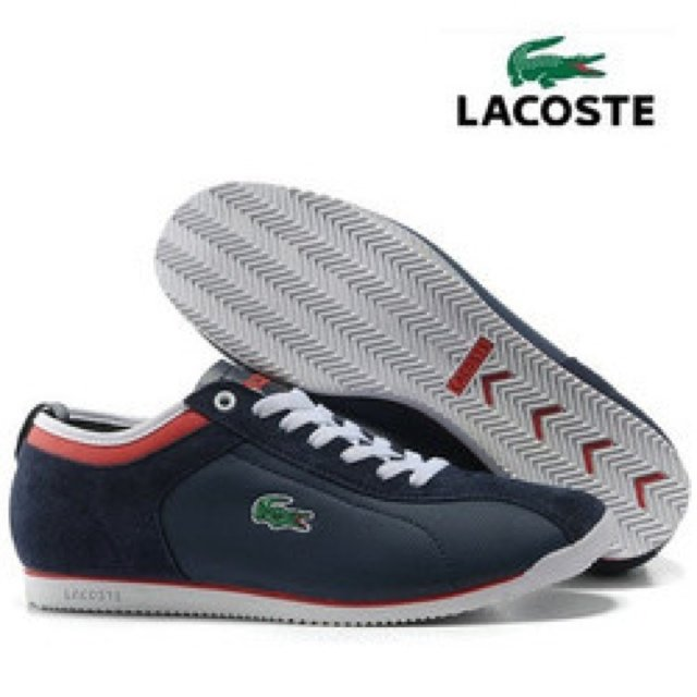 fdb3c4d545e9 Mens Lacoste trainers Navy   Sizes 6