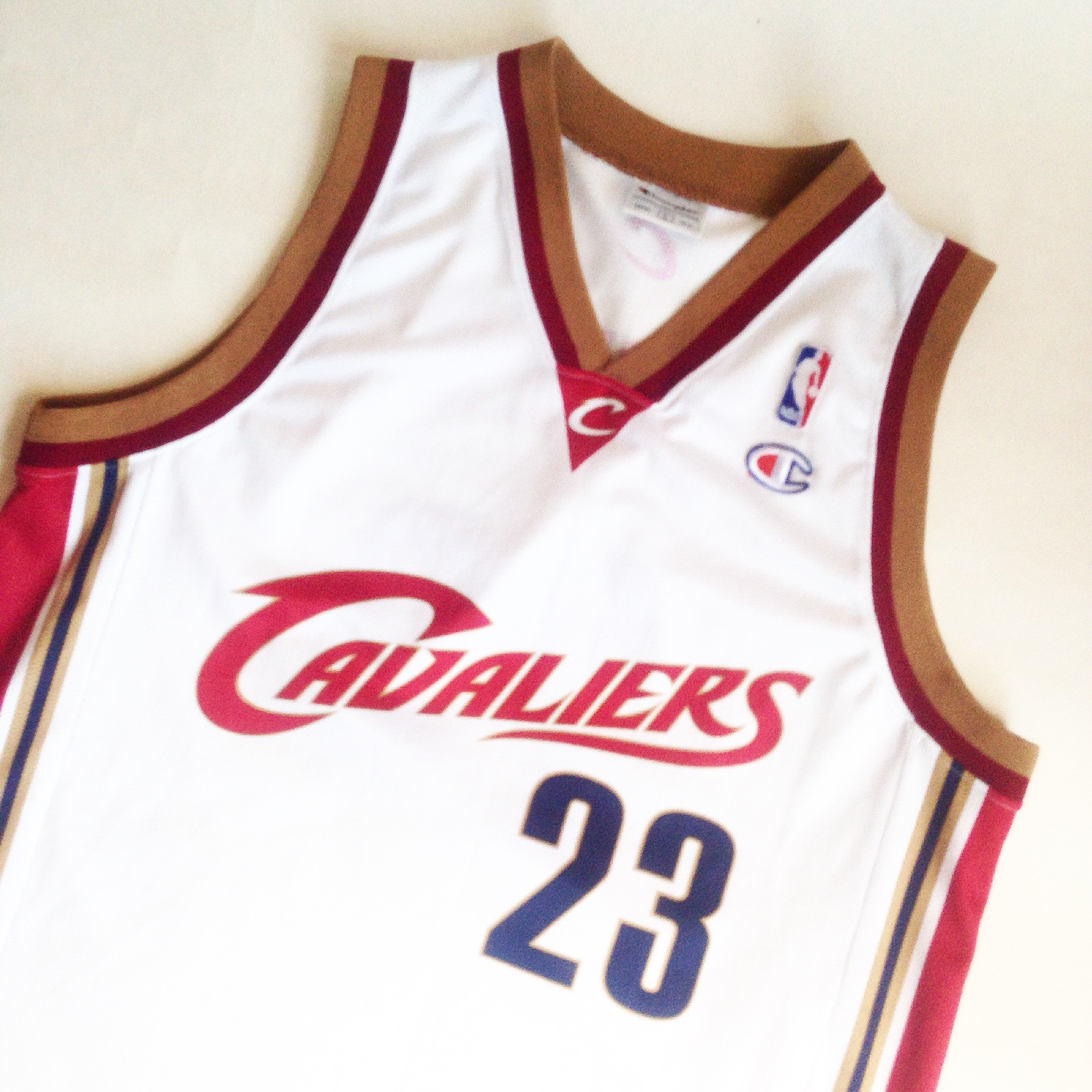 competitive price f656d 2155f Lebron James 23 Cleveland cavaliers jersey 2003... - Depop