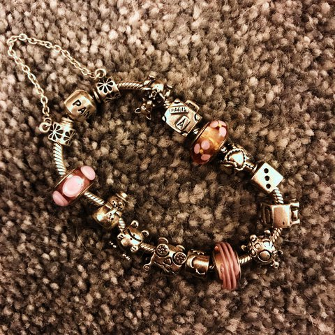 910398353 Pandora bracelet and charms, able to sell separately.. more - Depop