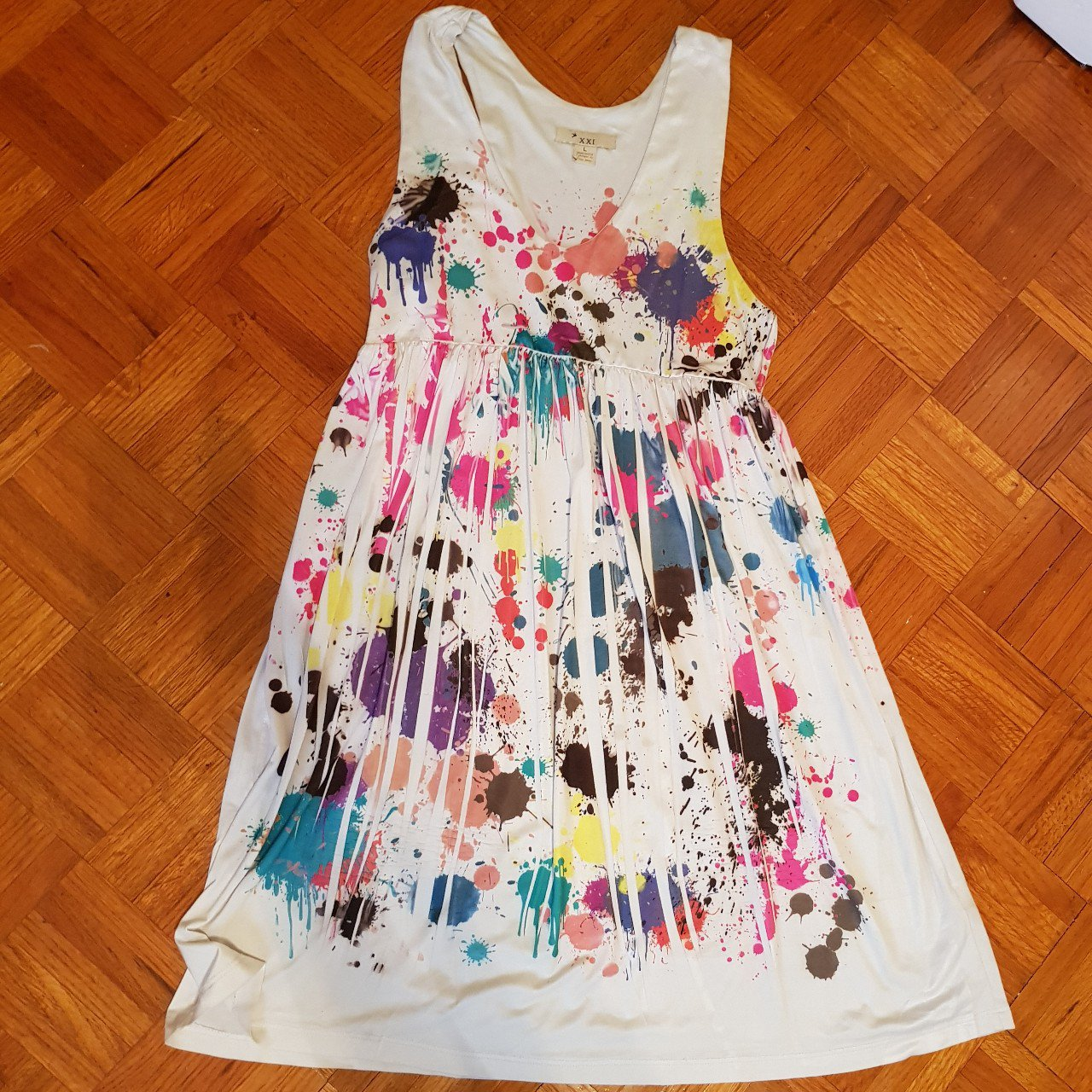 Paint Splatter Dress