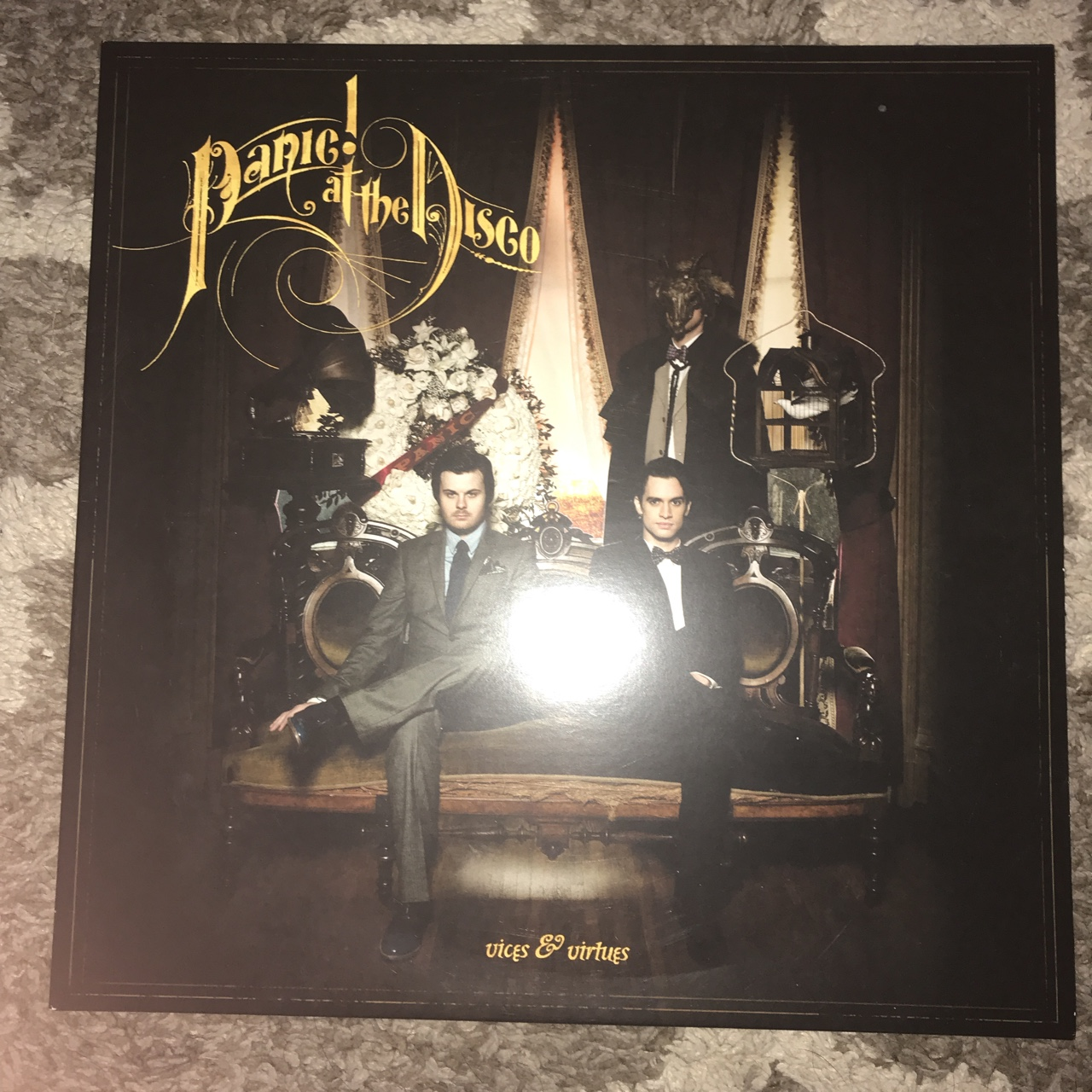 e81f147c Vices & Virtues Panic! at the Disco vinyl - perfect only on - Depop