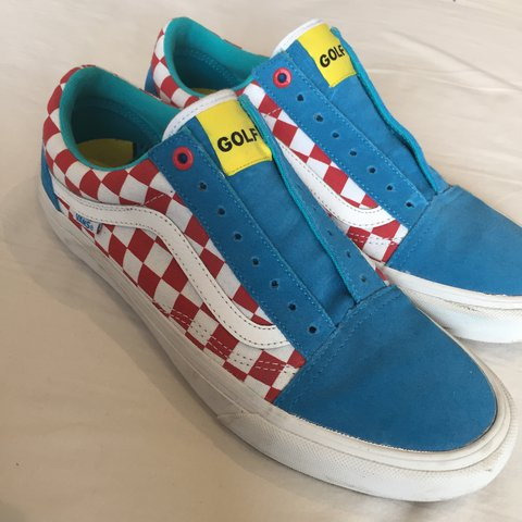 d8ef648c921f VERY RARE golf wang vans. UK size 8 US size 9. Only worn so - Depop