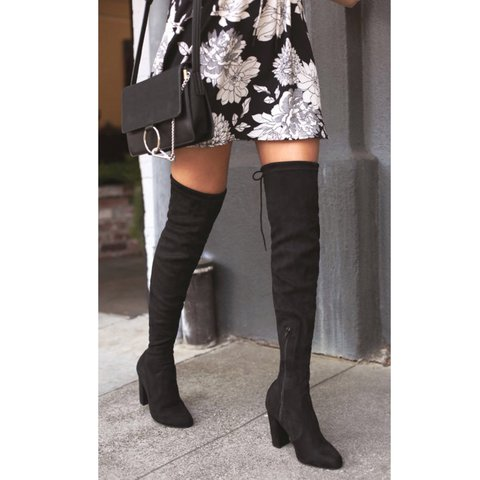 3ae07627d96 Suede over the knee boots. I got these from LULUS and I ve - Depop