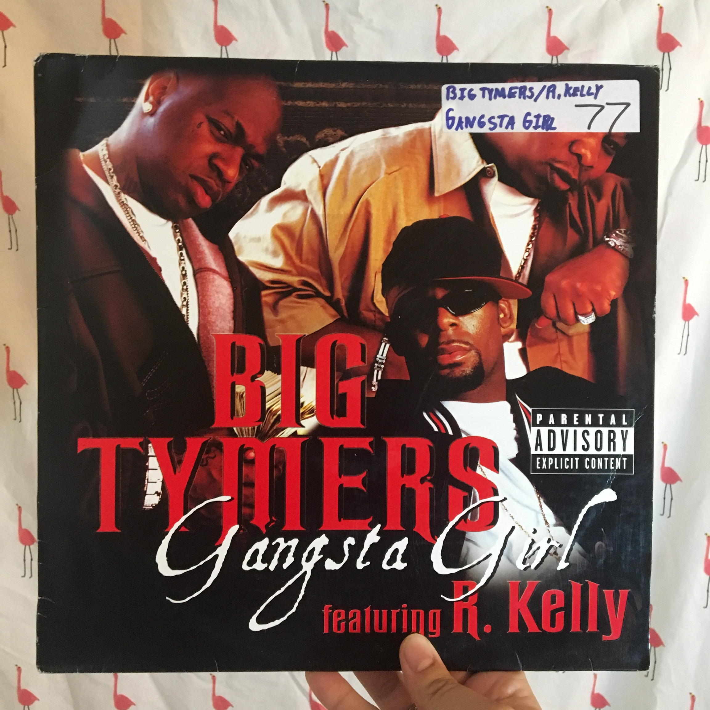 "Big Tymers Ft  R  Kelly–""Gangsta Girl"" -12 inch    - Depop"
