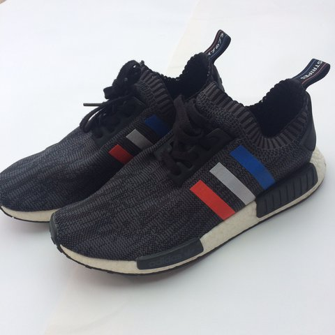 cfded0c04384c adidas NMD Tri Color Stripes Black
