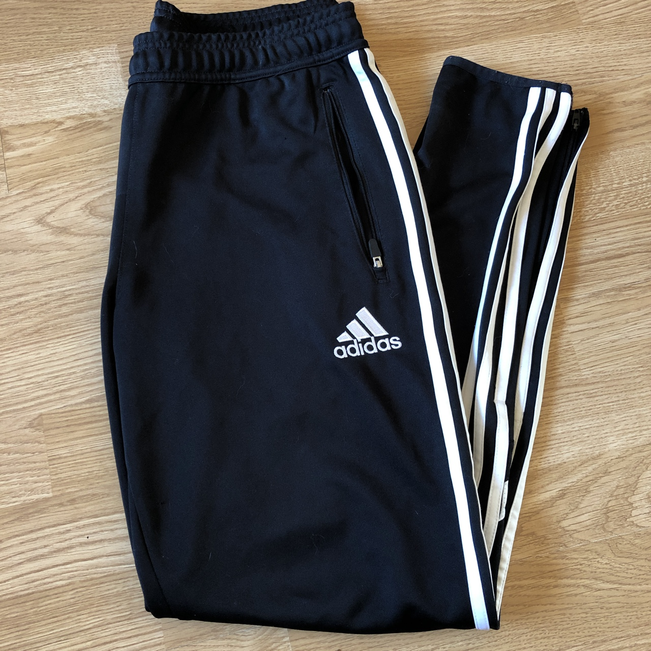 Vintage Adidas Climacool tracksuit bottoms, Tapered...