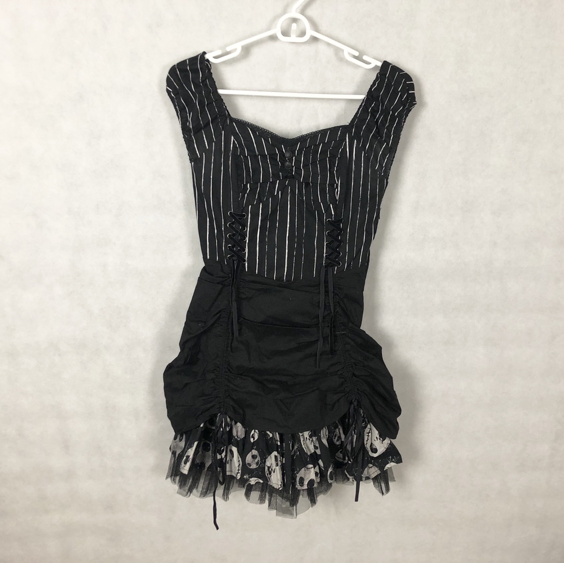 Hot Topic Nightmare Before Christmas Dress.Hot Topic Nightmare Before Christmas Dress Super Depop