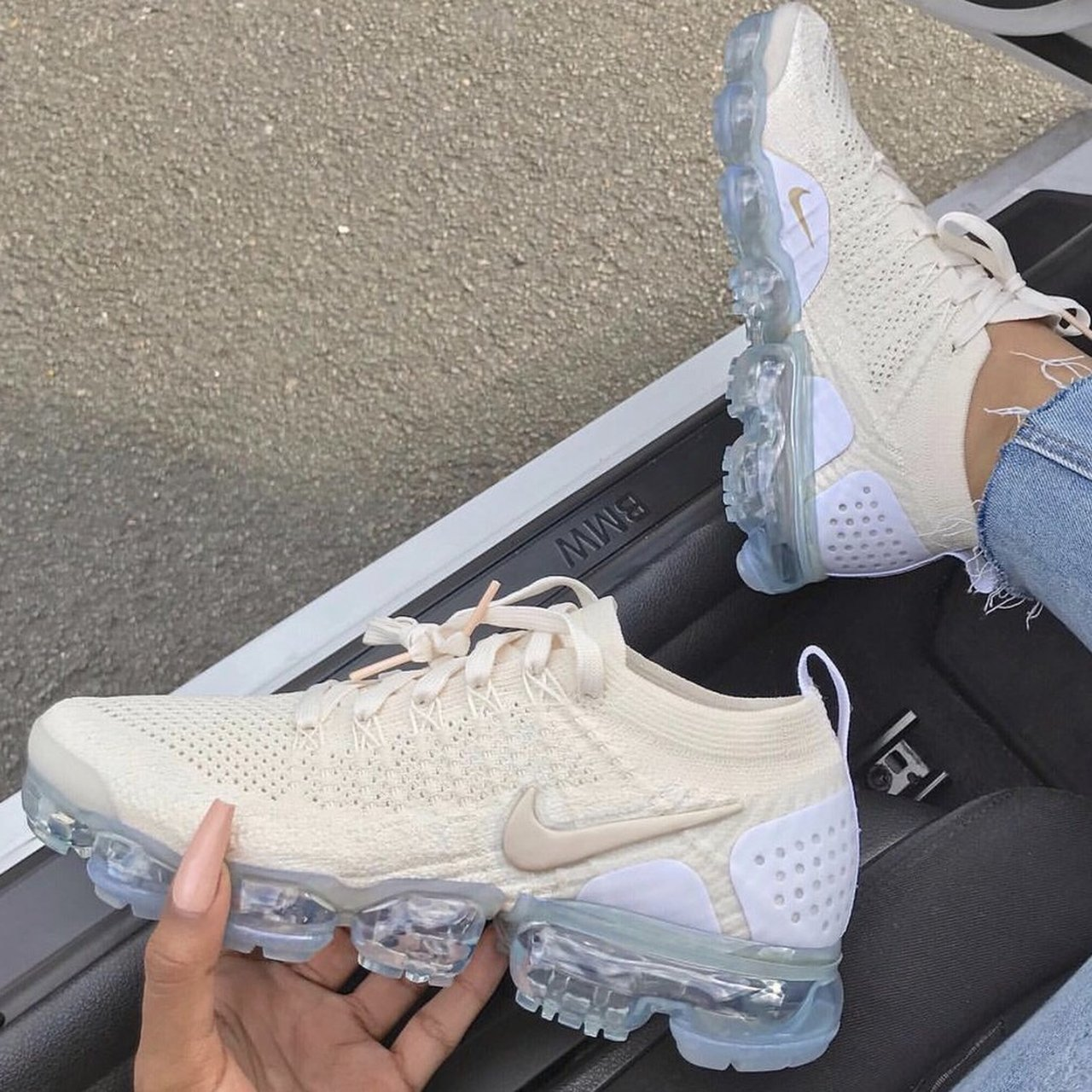 Nike Vapormax Plus flyknit 2 Cream and