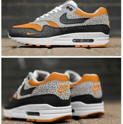 check out 9cc13 a7d33 NIKE AIR MAX 1 SAFARI 2018 Monarch Black Cobblestone... - Depop