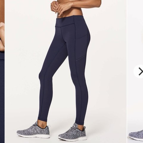 d1ad028359 NWOT Lululemon Speed Up Tight in Midnight Navy (looks almost - Depop