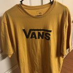 3a883ac841854 Vans Off The Wall Indian T-shirt. Green grey color. Some but - Depop