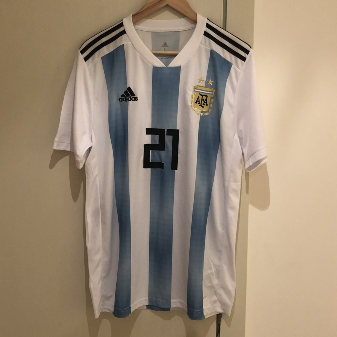 huge selection of b528b 80d42 Official Argentina 2018 World Cup Shirt DYBALA //... - Depop
