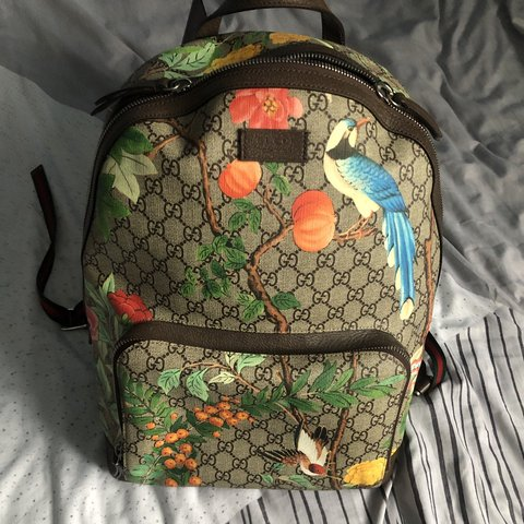 04a9797d79e942 @authenticluxurybrands. 11 days ago. London, United Kingdom. Authentic Gucci  Tian GG Supreme Backpack.