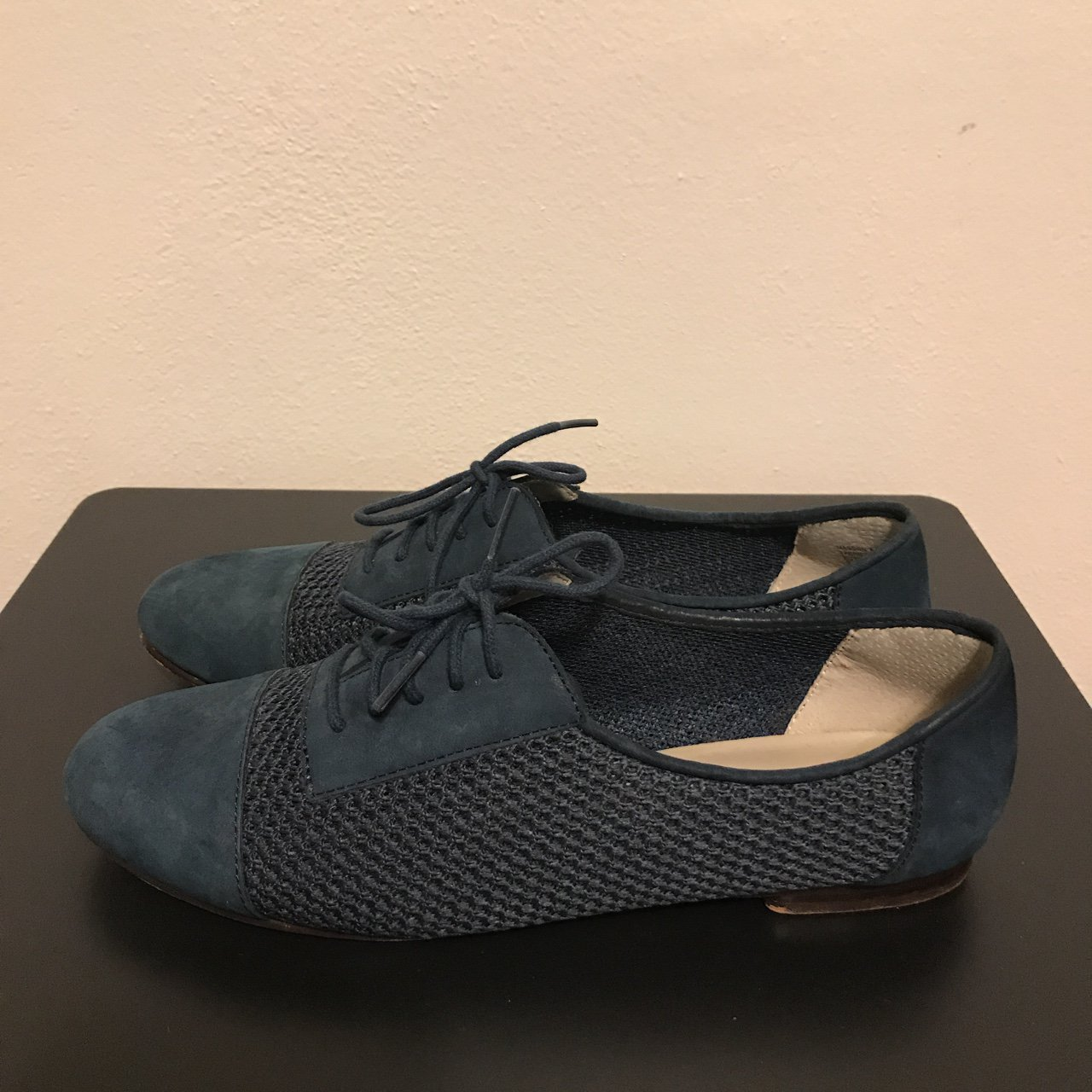 d55c061e617 Perforated oxfords by Steve for Steve Madden. Fits true to 2 - Depop