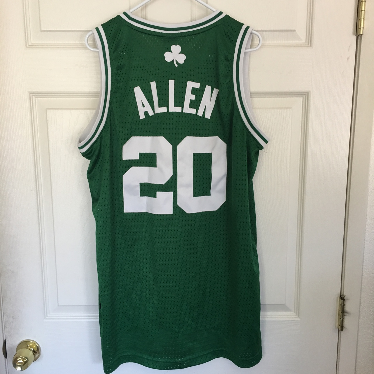 420607c84a Adidas Boston Celtics Jersey with Allen on the back.... - Depop