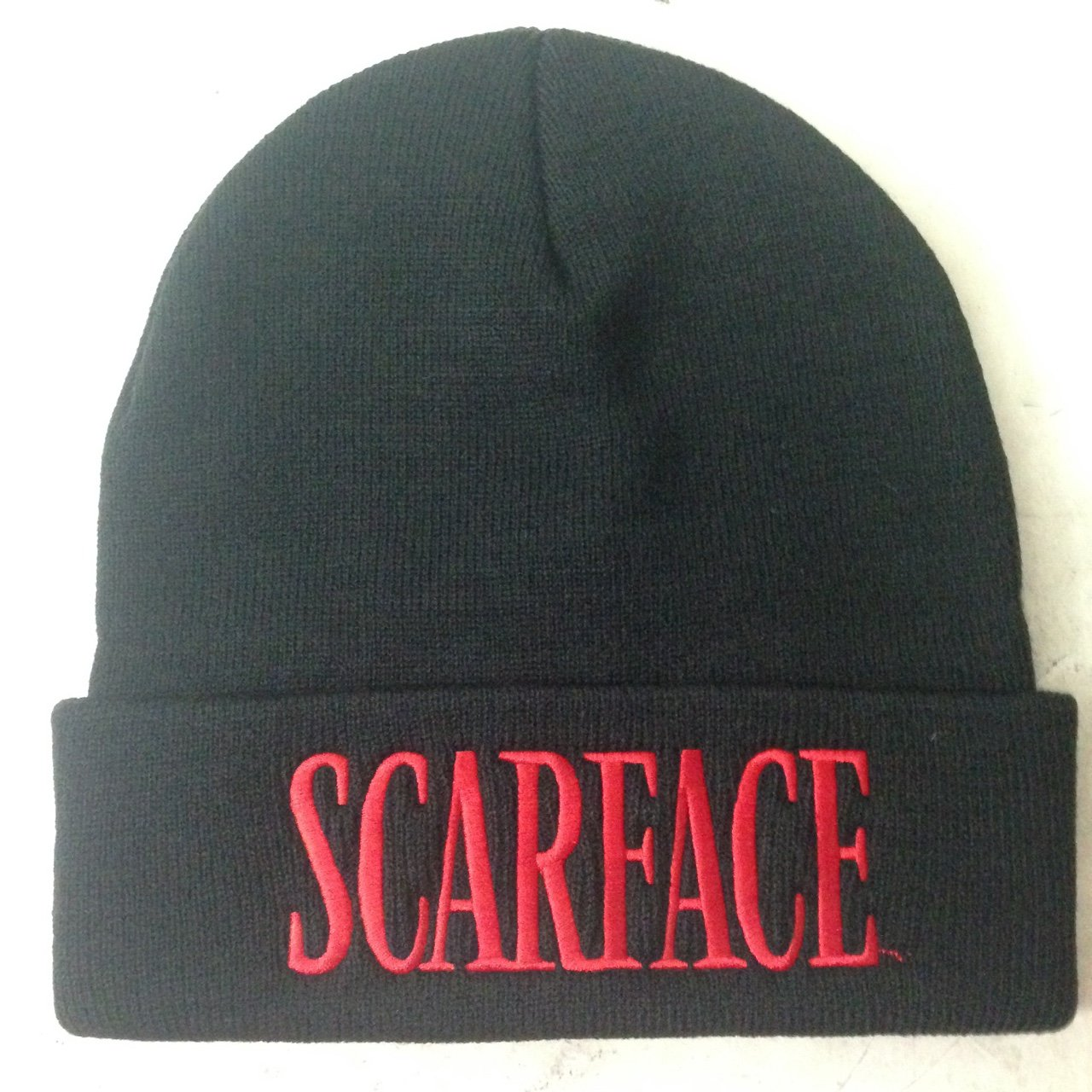 a811ccb954c SUPREME SCARFACE BLACK BEANIE ONE SIZE -FREE REDUCED AGAIN! - Depop