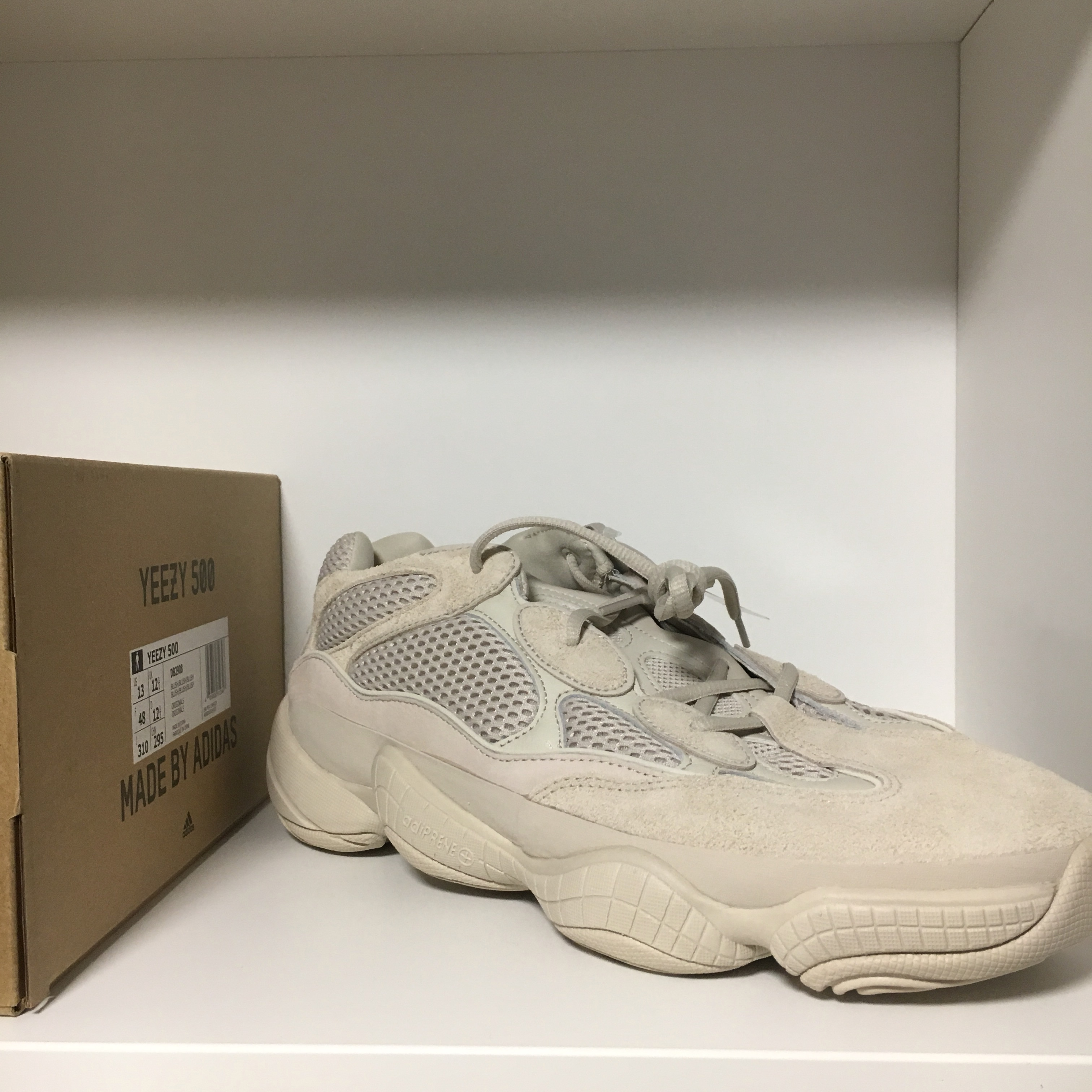 248677a91 Yeezy 500 Blush Contains no boost In Hand
