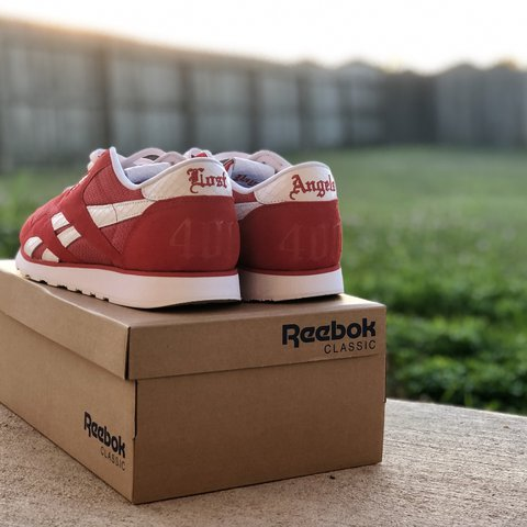 0bf9433ad3e YG x REEBOK 4HUNNID BLASSIKS. Look closely they say and the - Depop
