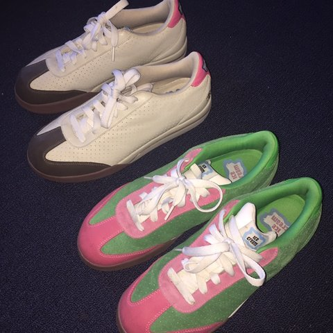 18362a2240 STEAL TODAY ONLY 2 PAIRS OF BBC ICECREAM REEBOK BOARD FLIP A - Depop
