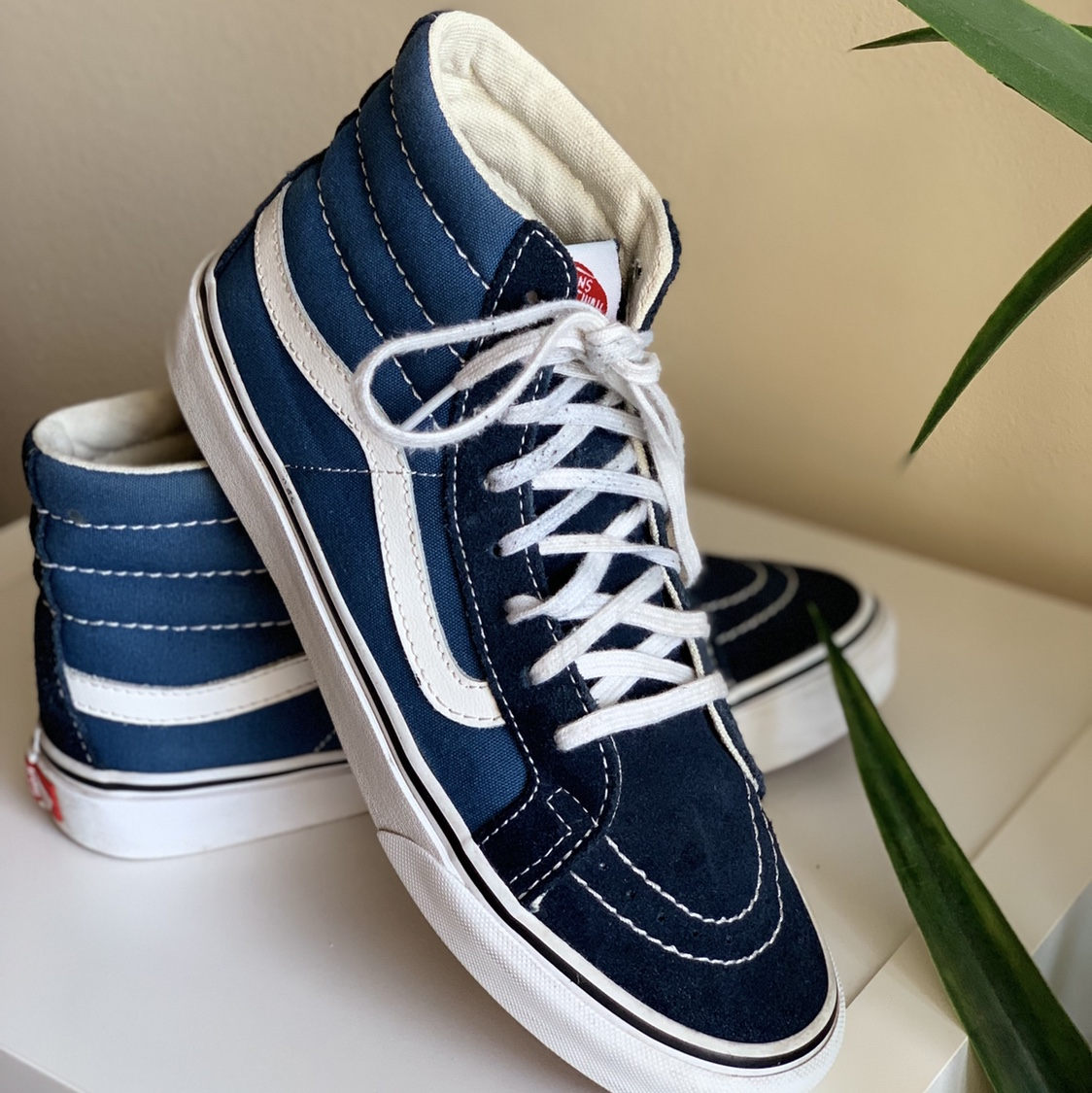 vans old skool blue high top