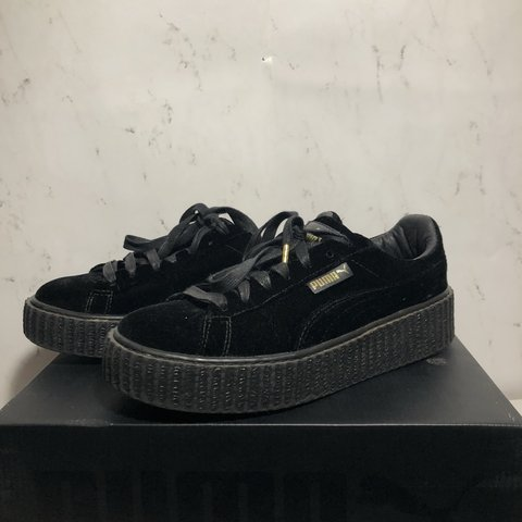 64b89da6620 BLACK FENTY PUMA VELVET CREEPER Woman s size - 8 US   UK - Depop